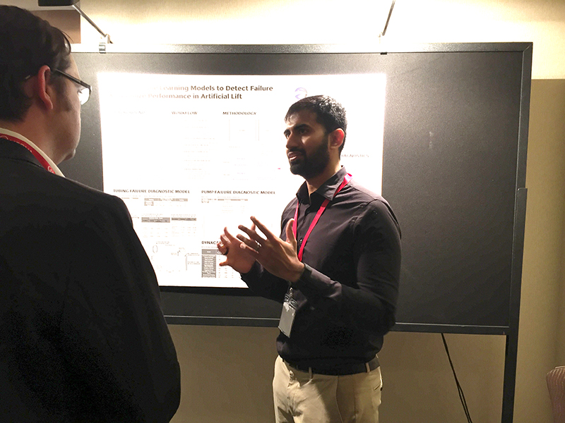 Venkat Putcha presents OspreyData's work at the 2018 SPE Western Regional Meeting