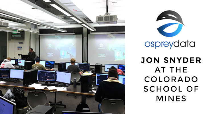 Jon Snyder Colorado school of mines digital oilfield unified monitoring